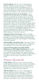 CHRISTMAS Decembe 20–25, 2011 - Sea Island - Page 3