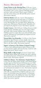 CHRISTMAS Decembe 20–25, 2011 - Sea Island - Page 5