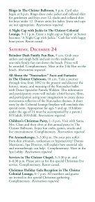 CHRISTMAS Decembe 20–25, 2011 - Sea Island - Page 6