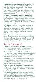 CHRISTMAS Decembe 20–25, 2011 - Sea Island - Page 7