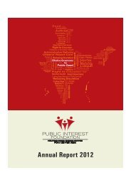 Read more about our Annual Report for 2012. - Public Interest ...