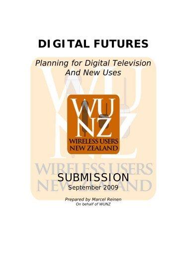 DIGITAL FUTURES - Wunz