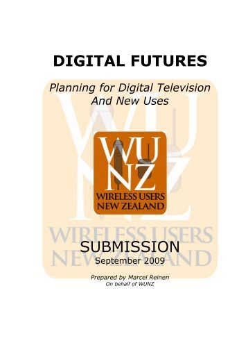 DIGITAL FUTURES - Wunz