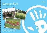 Evington Park - the art department