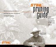 STIHL Pruning Guide
