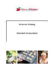 Too Hot To Handle - Menu Maker Foods