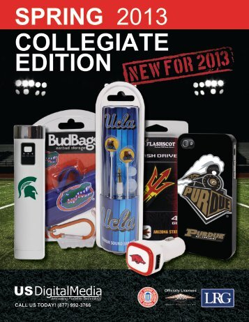 Collegiate Merchandise Catalog - US Digital Media