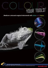Colour Your Tools overview flyer - National Surgical Corporation