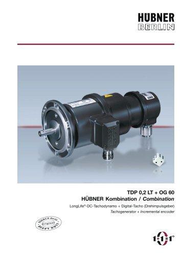 TDP 0,2 LT + OG 60 HÜBNER Kombination / Combination