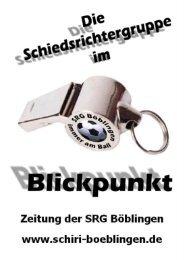 6. Ausgabe 10/07 - Die Schiedsrichtergruppe Böblingen