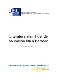 Literatura alemá desde os seus inicios ata o Barroco - Universidade ...