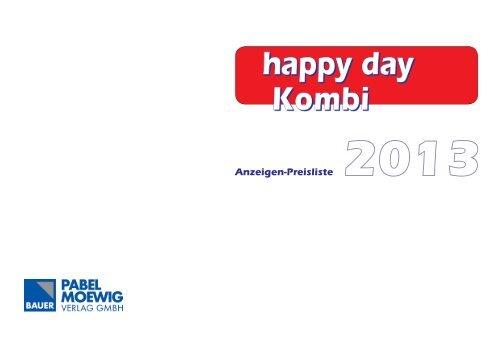 Happy Day Kombi 2013 - mdmedien-gmbh.de