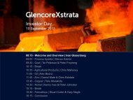 Investor Day - Xstrata