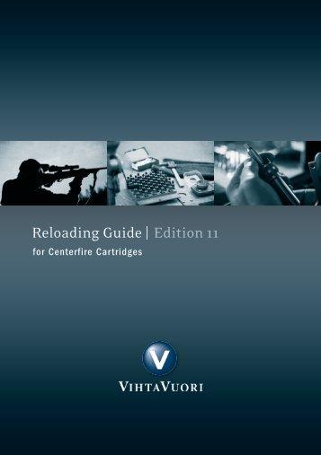 Edition 10 Reloading Guide | Edition 11 - Lapua