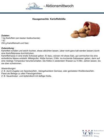 Kartoffelklöße und Rotkohl