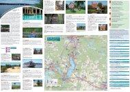 Scharmützelsee Flyer - Ausflugslinien im Seenland Oder-Spree