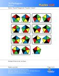 15 Pentagons - Puzzles.COM - Page 2