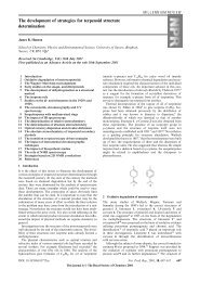 The development of strategies for terpenoid structure determination