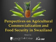 Perspectives on Agricultural Commercialization and Food Security ...