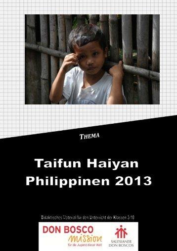 Taifun Haiyan Philippinen 2013 - Don Bosco Mission