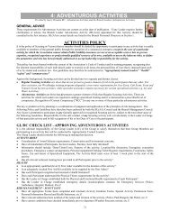 4: ADVENTUROUS ACTIVITIES - Scouts Victoria