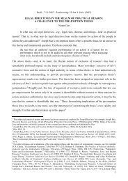 Legal Directives in the Realm of Practical Reason - Noam Gur - 7.11 ...