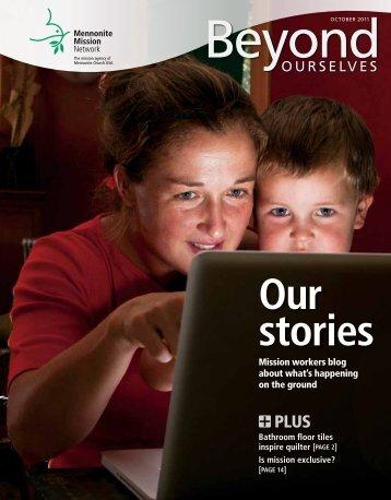 Our Stories (PDF) - Mennonite Mission Network