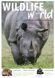or click here for a PDF copy of the latest Wildlife World