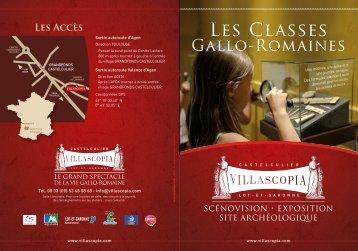 Téléchargez la plaquette des ateliers pédagogiques - Villascopia