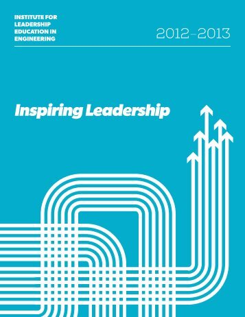 Inspiring Leadership - Institute for Leadership Education in ...