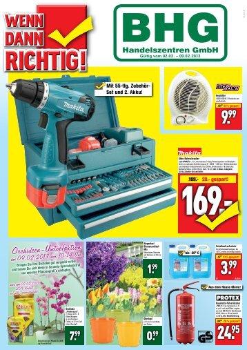 Orchideen-Umtopfaktion - BHG Handelszentren GmbH