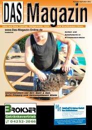 Ausgabe September 2011 - Flyer- und Plakatverteilung
