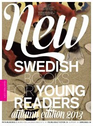 New Swedish Books for Young Readers