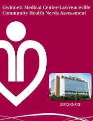 2012-2013 Report - Lawrenceville - Gwinnett Medical Center