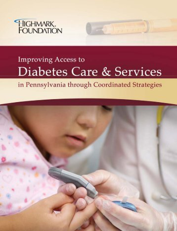 Improving Access to Diabetes Care and Services in Pennsylvania ...