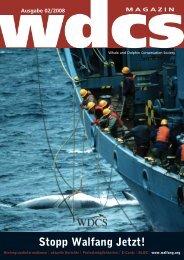 Stopp Walfang Jetzt! - WDCS Deutschland