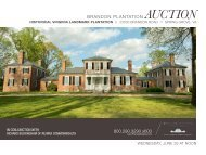 BRANDON PLANTATION Auction 800.290.3290 x600 - Premiere ...