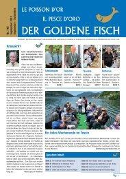 Die Zeitschrift «Der Goldene Fisch» Nr. 145 - Tafelgesellschaft zum ...