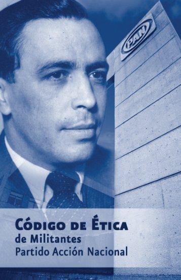 Código de ética de militantes PAN - Partido Acción Nacional