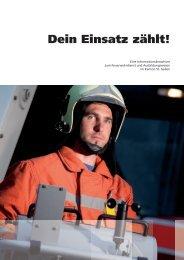 Dein Einsatz zählt! - Kantonal-Feuerwehrverband St. Gallen