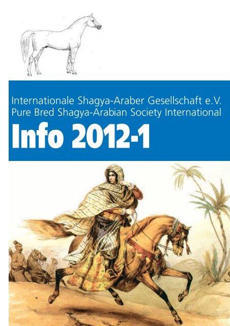 Internationale Shagya-Araber Gesellschaft e.V. - Shagya-Online