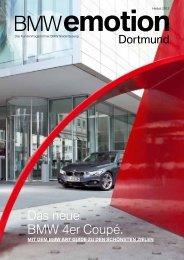 Das neue BMW 4er Coupé. - BMW Niederlassung München