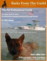 Here - The Pet Professional Guild