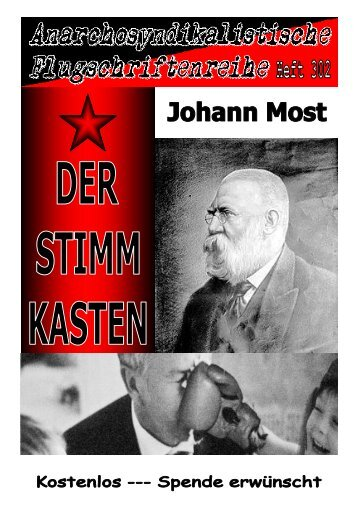 302 Most, Johann - Der Stimmkasten