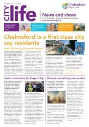 City Life - summer 2013 (issue 68) - Chelmsford Borough Council