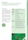 Maßgeschneiderte Ausbildungs- und Schulungsangebote zur ... - Ersa - Seite 5