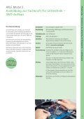 Maßgeschneiderte Ausbildungs- und Schulungsangebote zur ... - Ersa - Seite 7