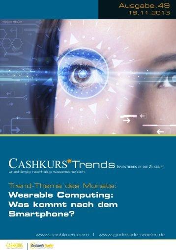 Wearable Computing: Was kommt nach dem Smartphone? - Guidants