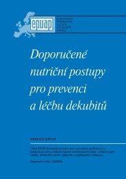 Doporučené nutriční postupy pro prevenci a léčbu ... - Hojení ran