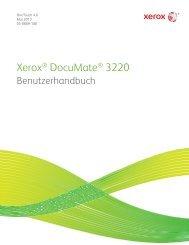 Xerox Benutzerhandbuch - Scanners